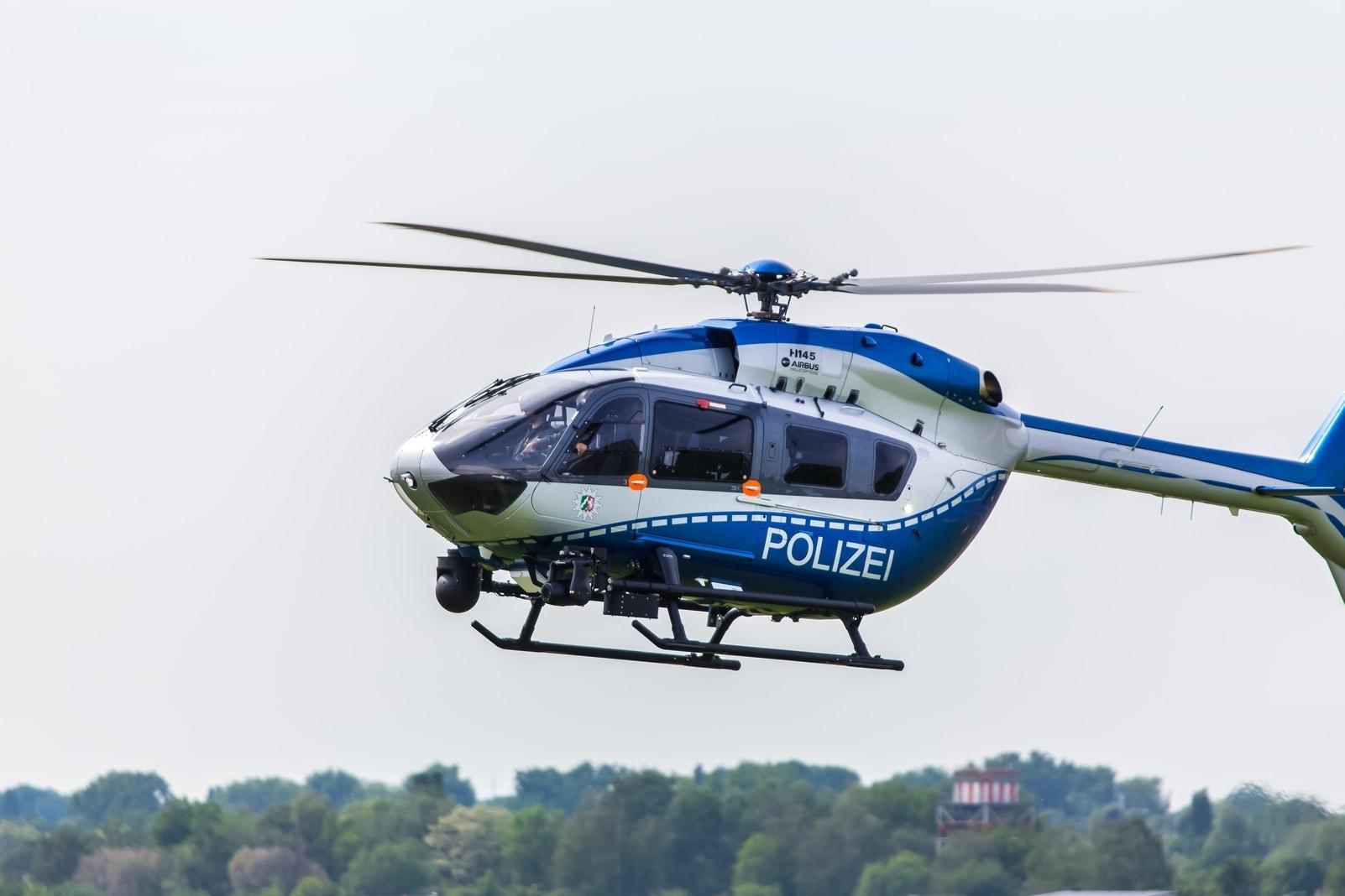 Polizeihubschrauber Hubschrauber