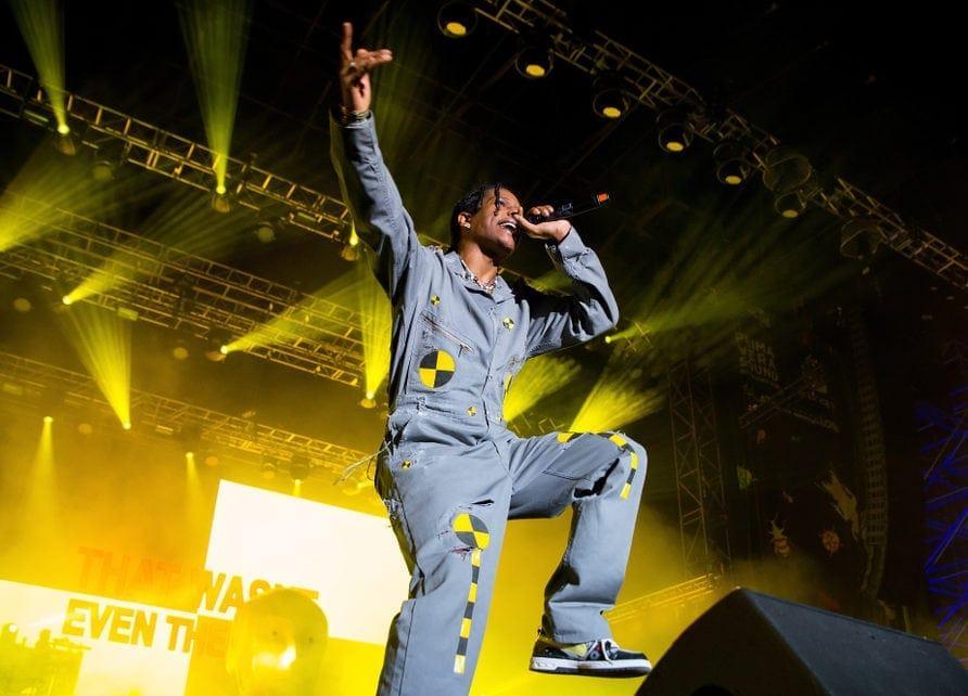 ASAP Rocky Rapper Auftritt