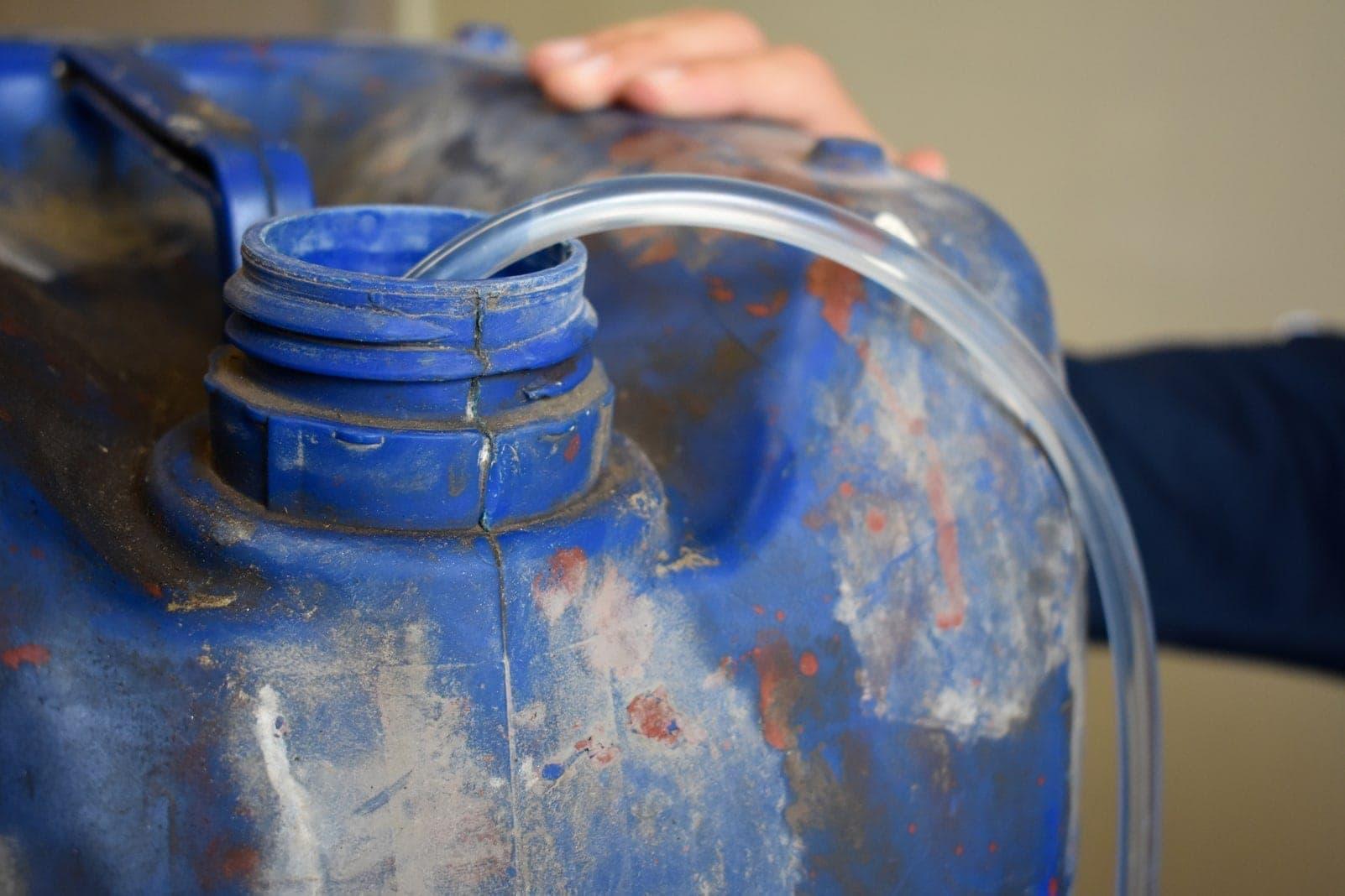 Kanister Benzin