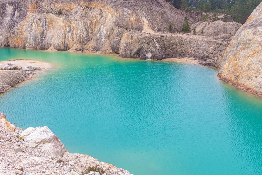 Monte Neme in Spanien Gewässer