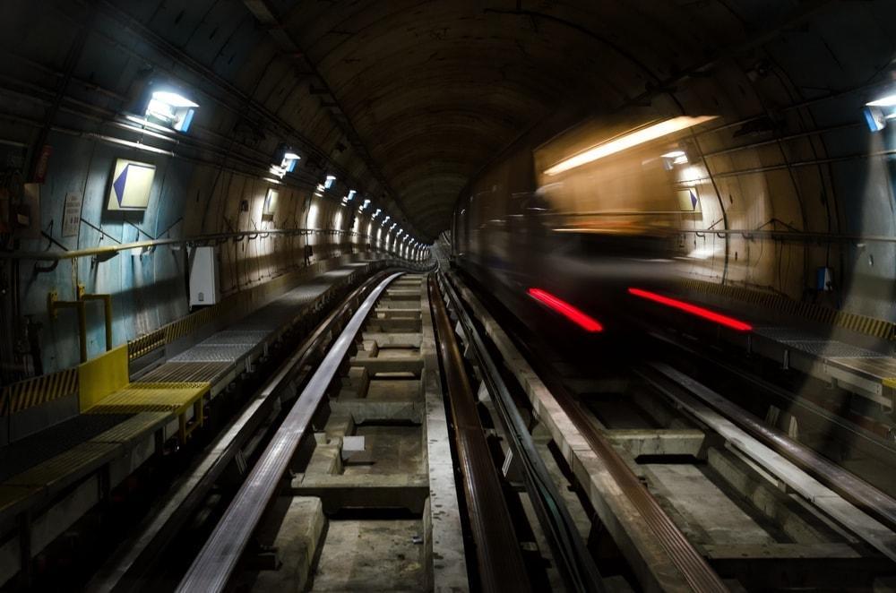 U-Bahn Gleisbett