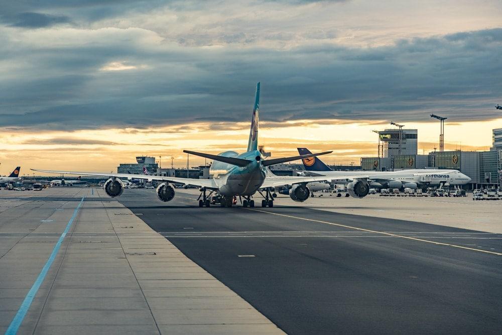 Flugzeug Frankfurt Flughafen