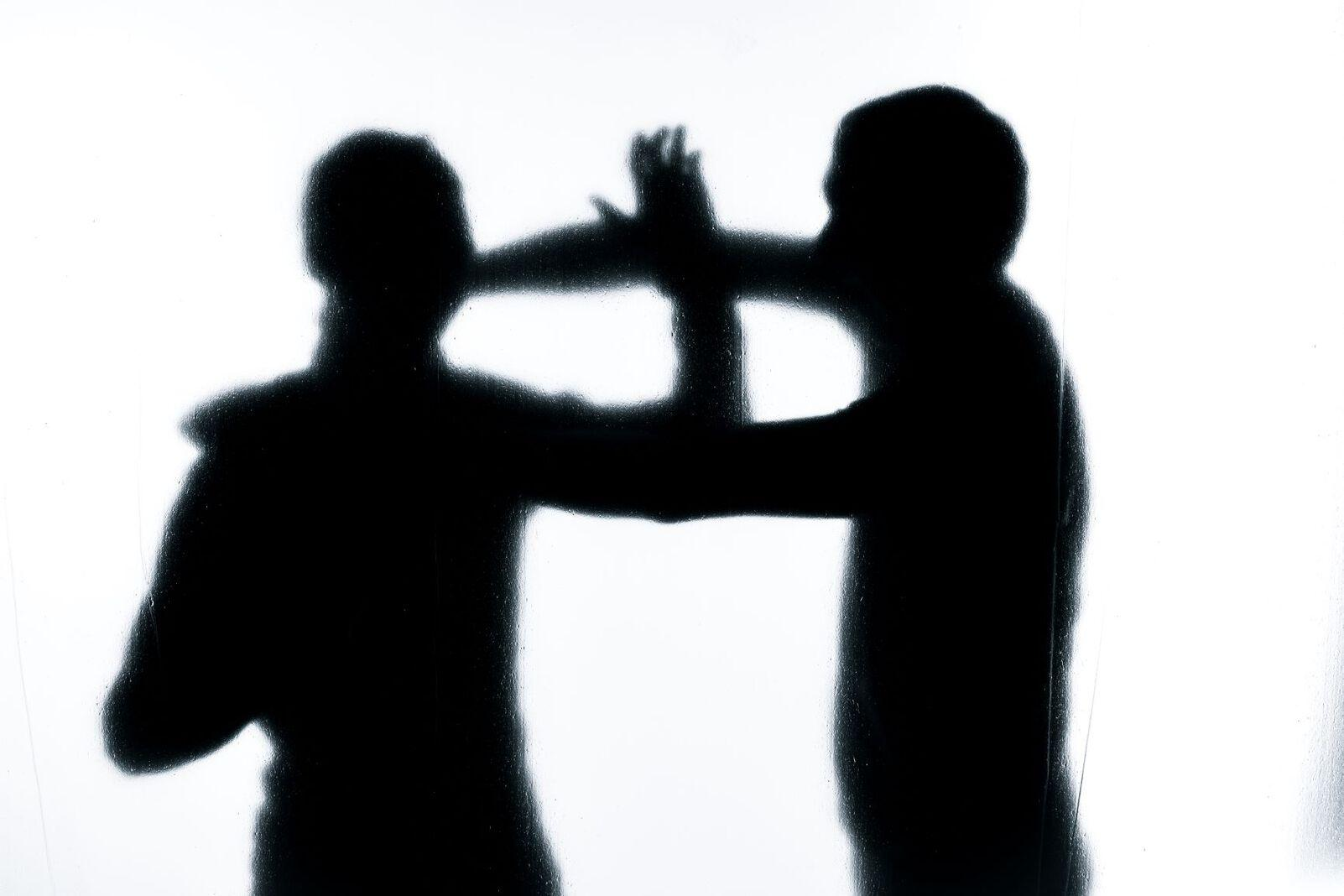 Männer kämpfen Kampf Symbol