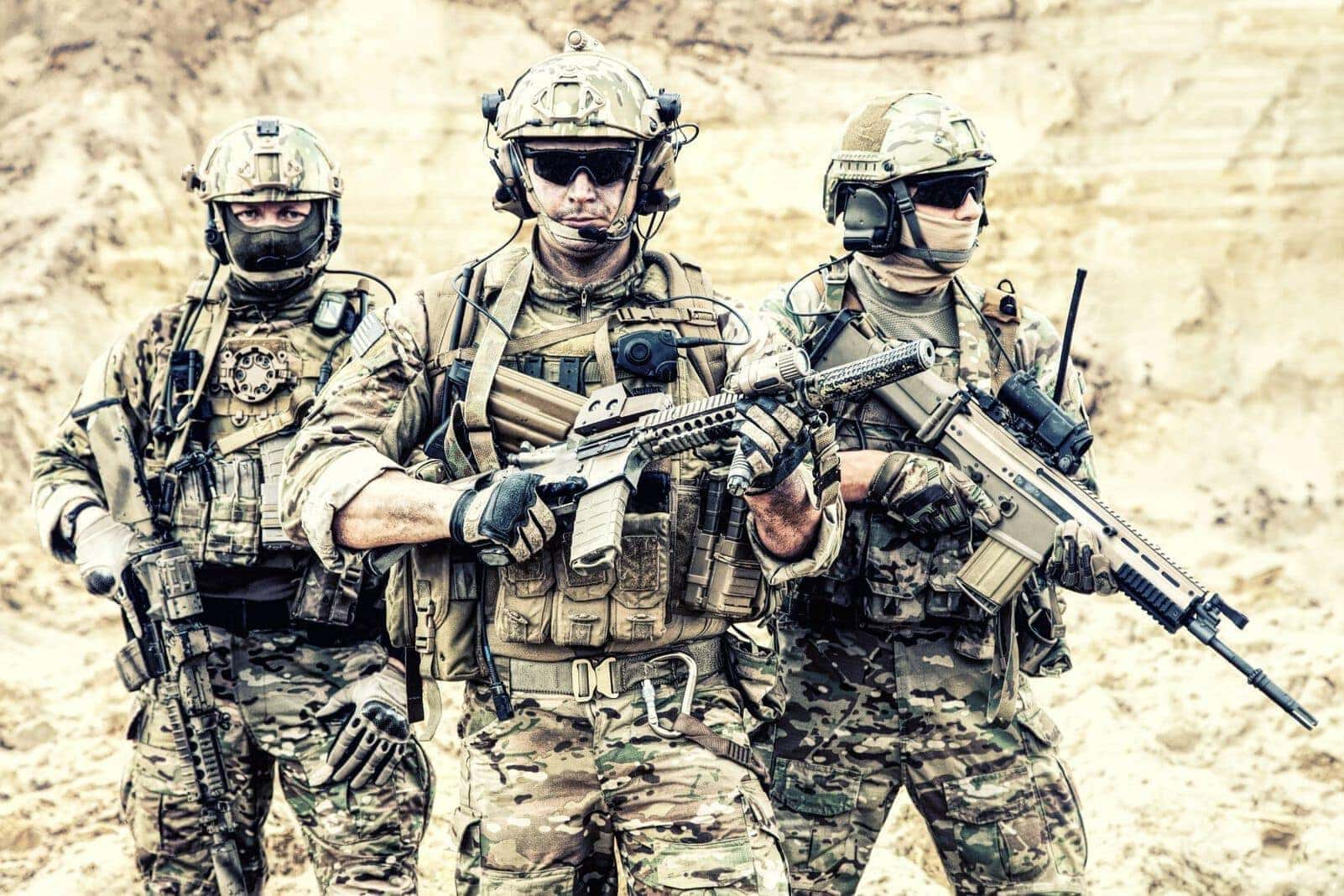 Elitesoldaten Anti-Terror US-Militär