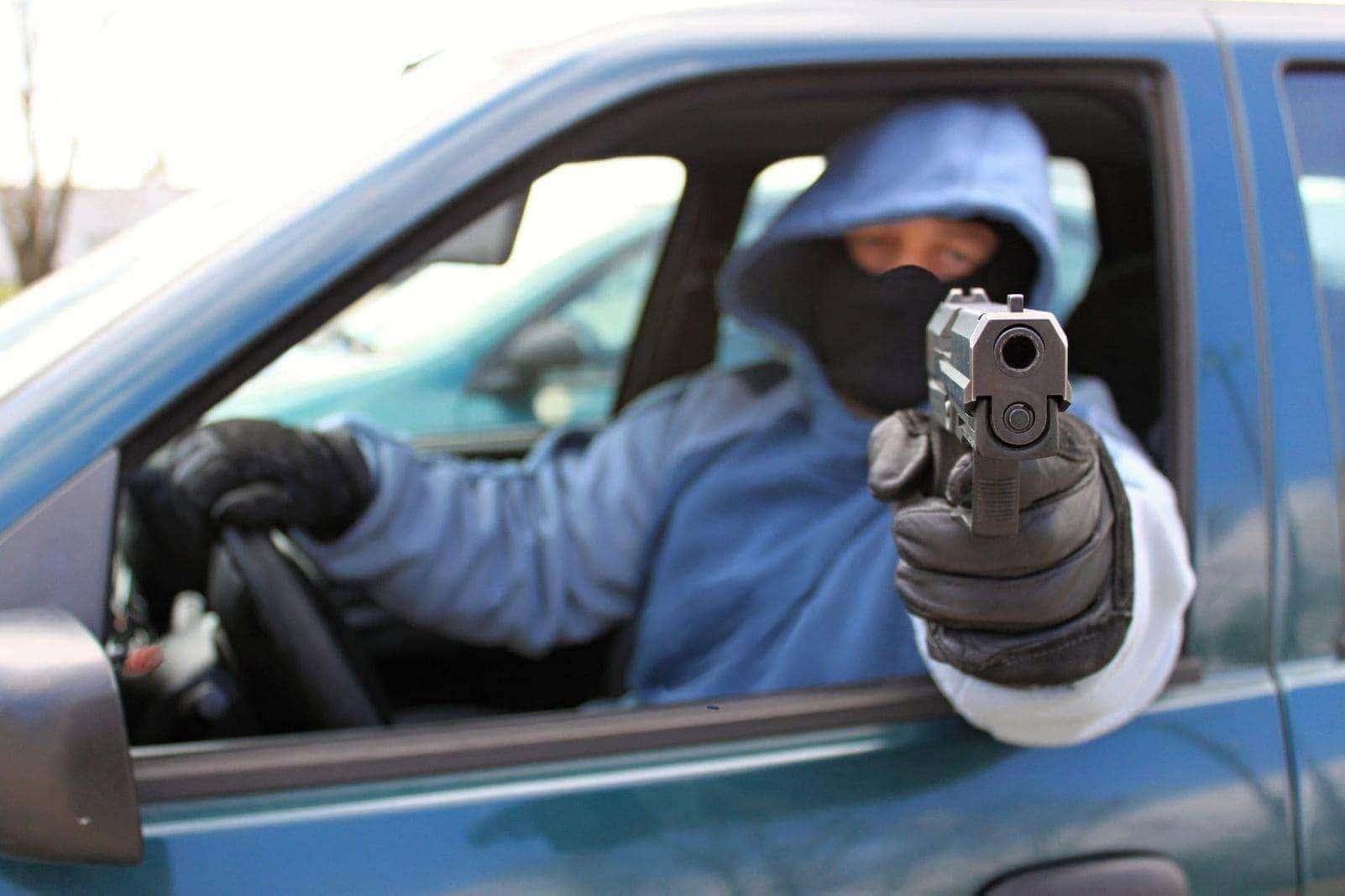 Auto Pistole Waffe