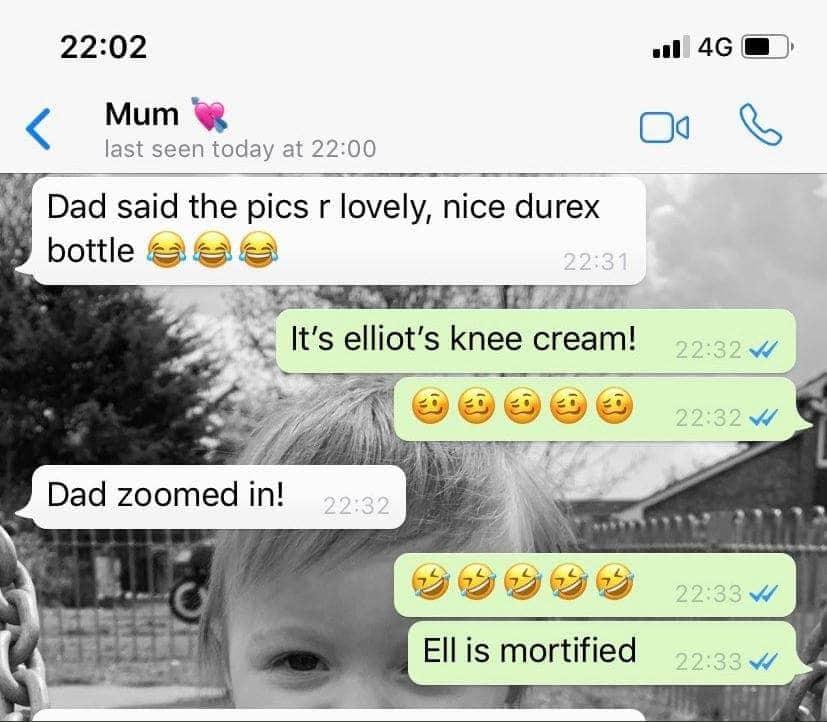 Nachricht WhatsApp Mutter