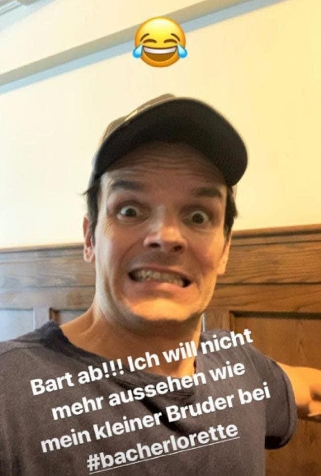 Steffen Henssler ohne Bart Instagram