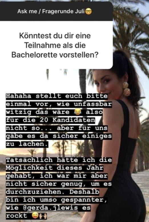 Tahnee Christin Instagram-Story