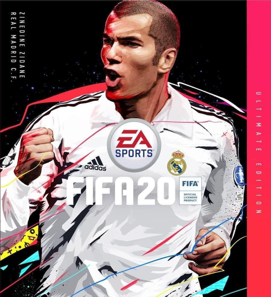 FIFA 20 Ultimate Edition Cover Zinedine Zidane