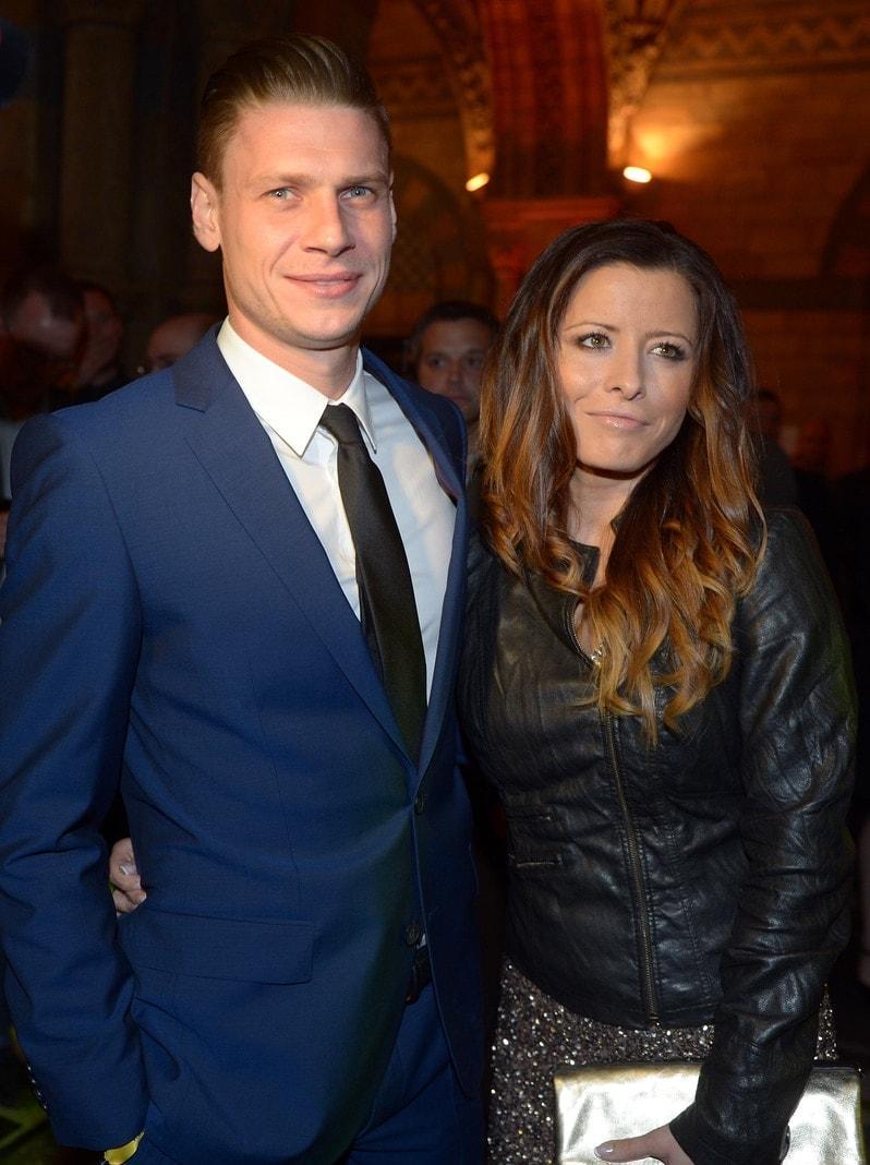 Lukasz Piszczek und seine Frau Ewa