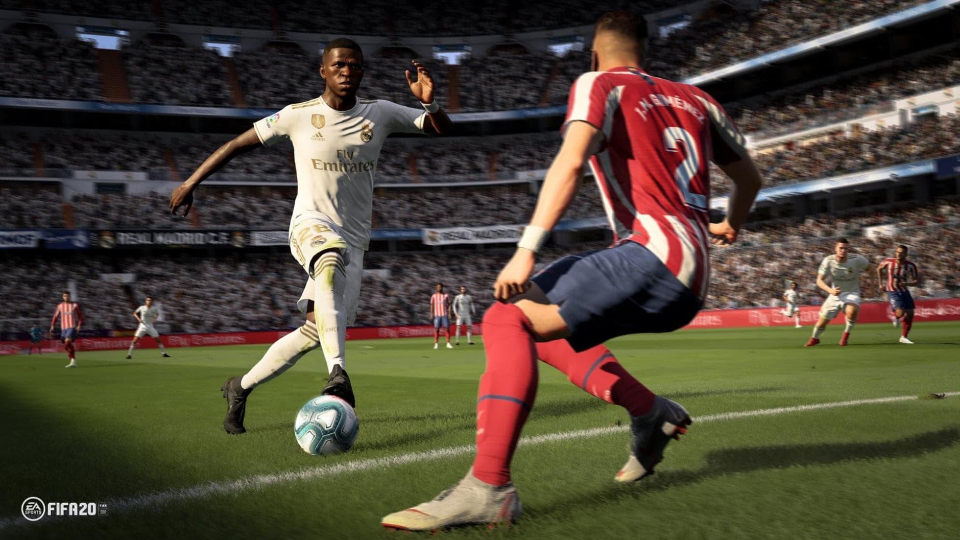 FIFA 20 Vinicius Gameplay