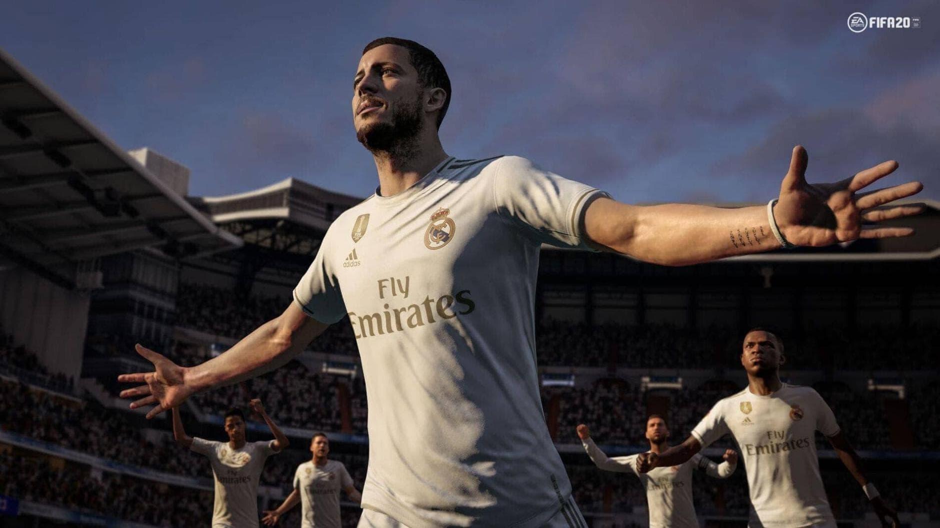 FIFA 20 Ultimate Team FUT Eden Hazard