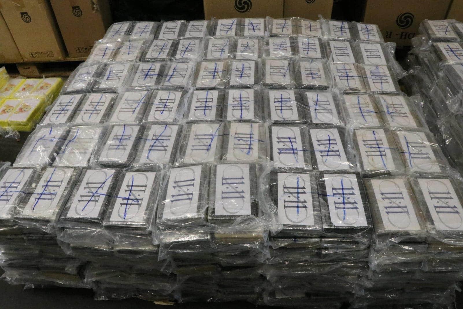 Kokain-Fund in Hamburg