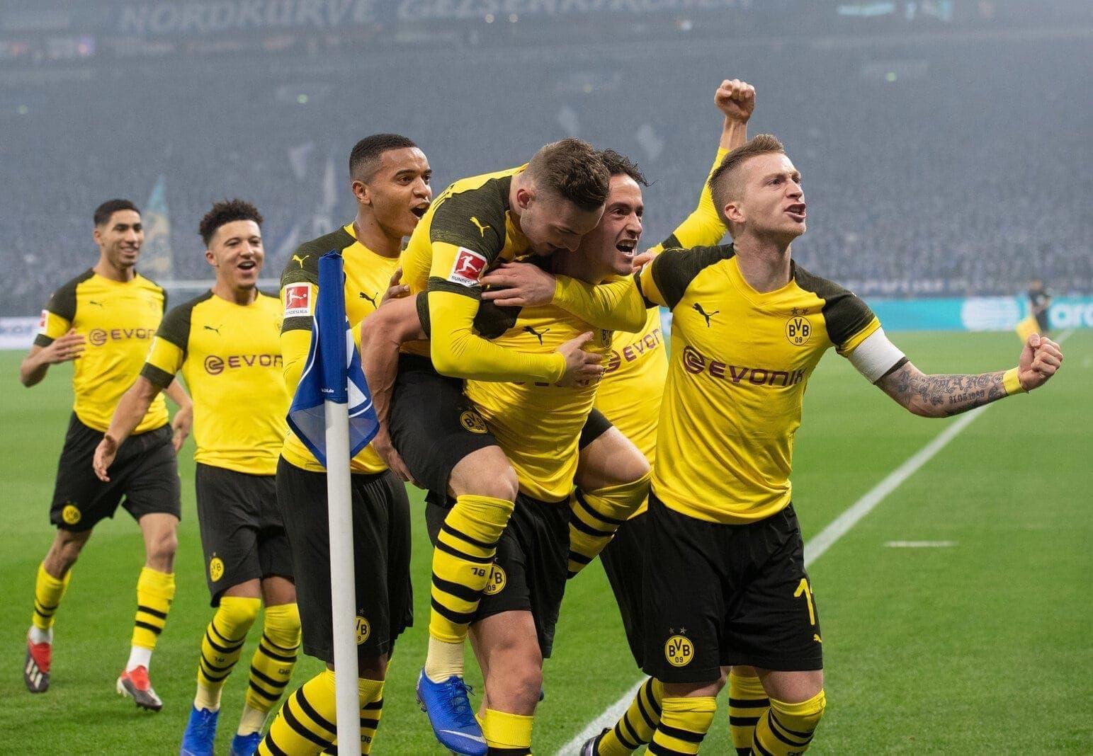 Borussia Dortmund Marco Reus Jubel