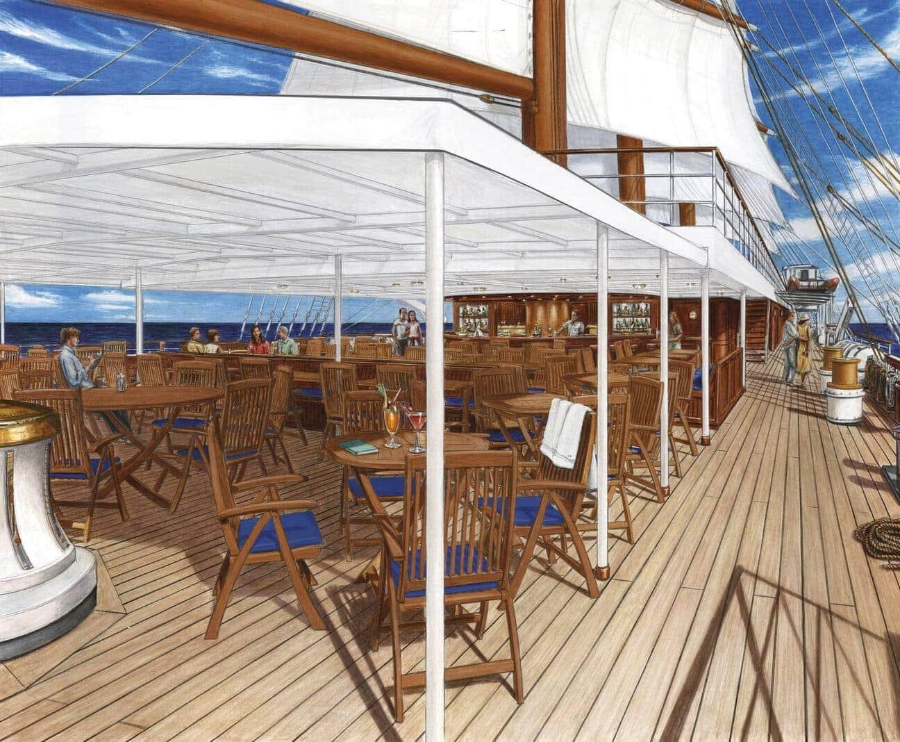 Reederei Sea Cloud Cruises stellt neues Schiff vor