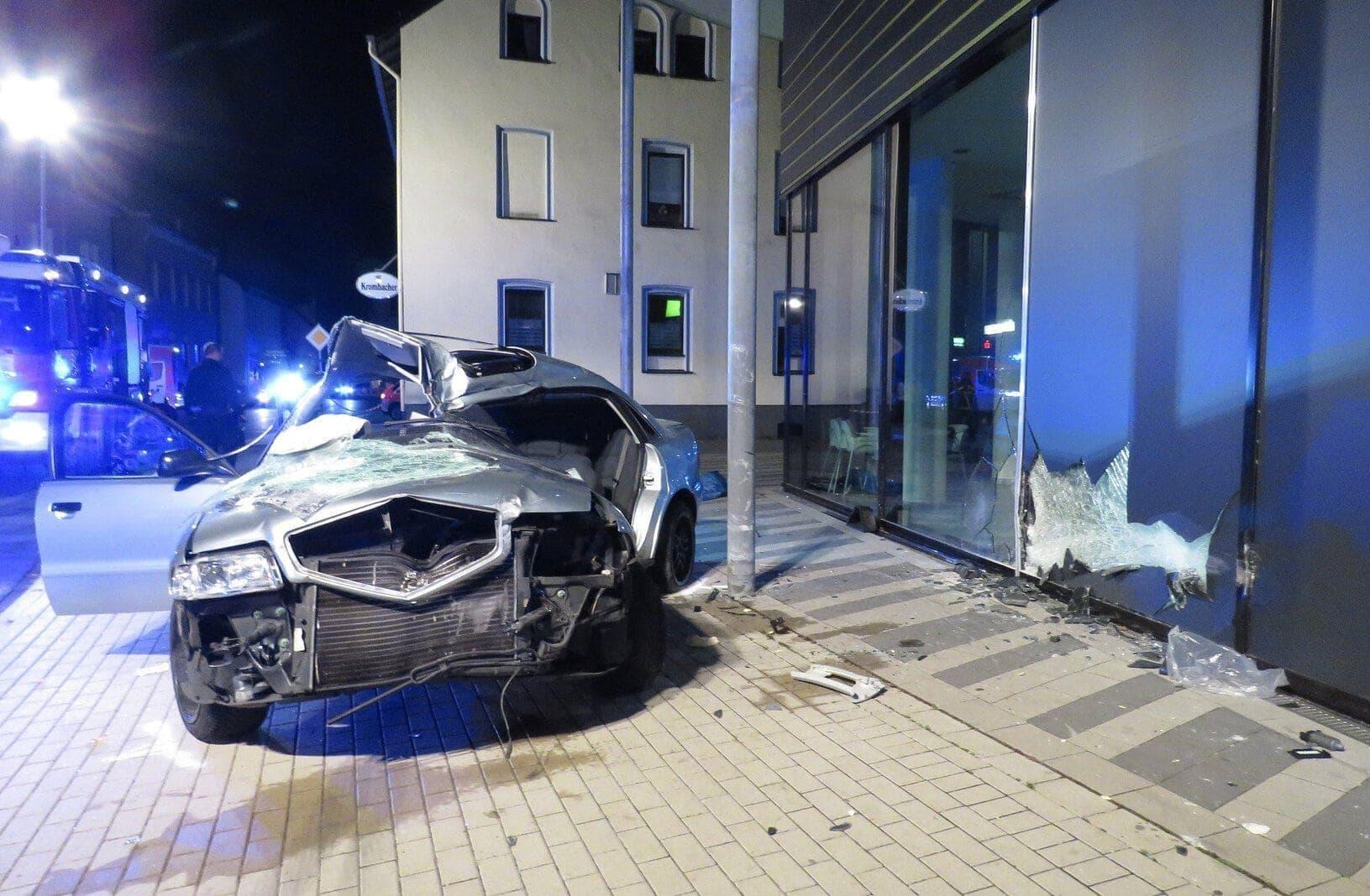 Verkehrsunfall in Plettenberg