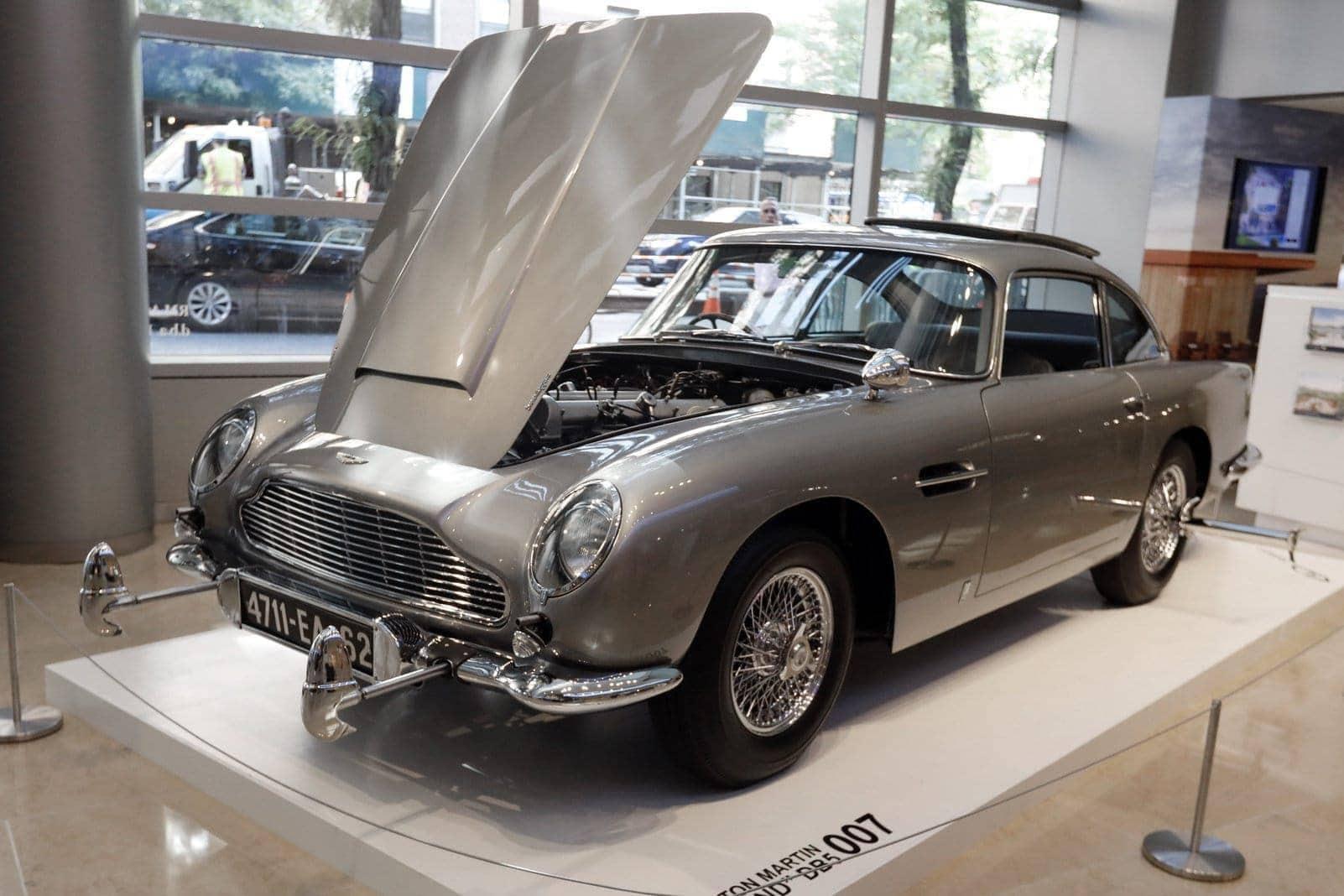 Bonds legendärer Aston Martin
