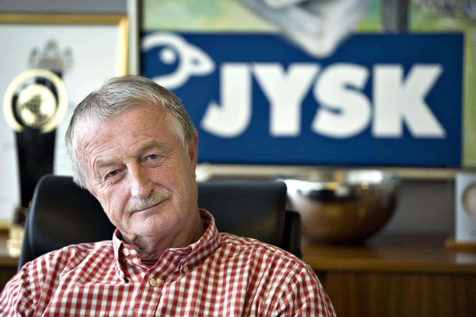 Lars Larsen, Dänisches Bettenlager