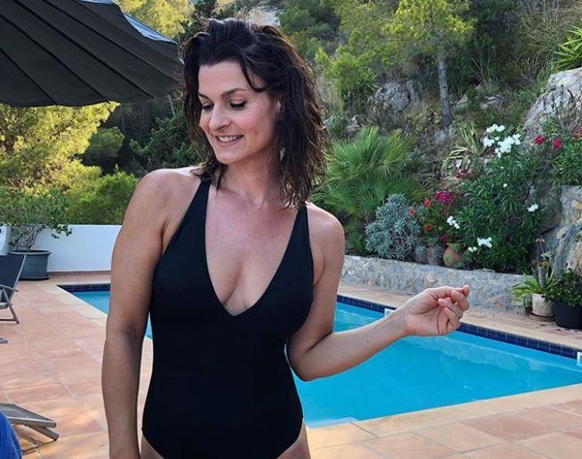 Marlene Lufen im Badeanzug bei Instagram