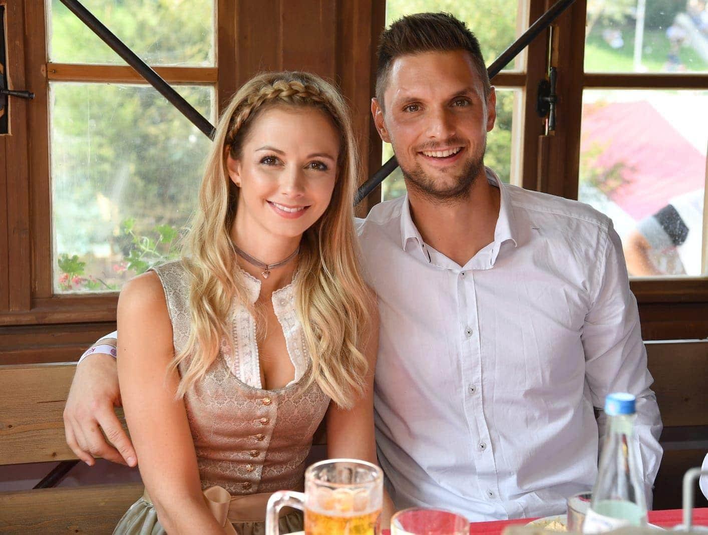 Sven Ulreich und seine Frau Lisa