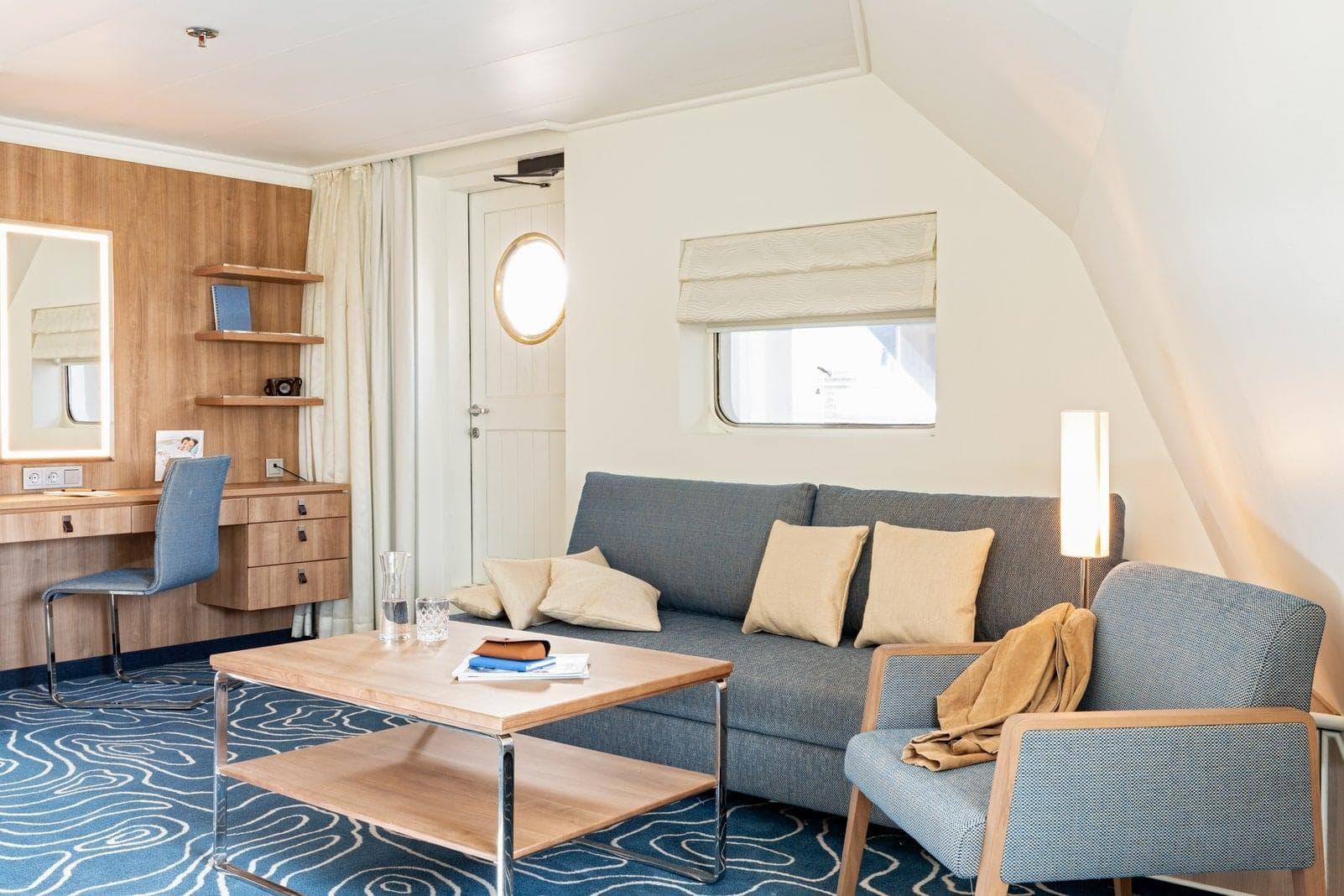 AIDAcara Werft-Suite