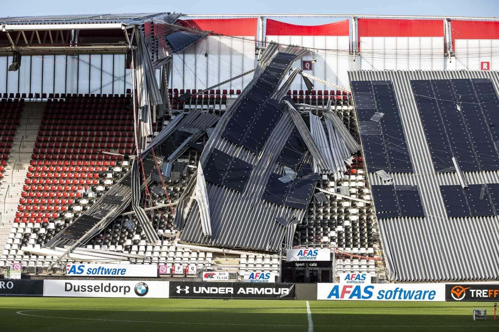 AZ Alkmaar Dach