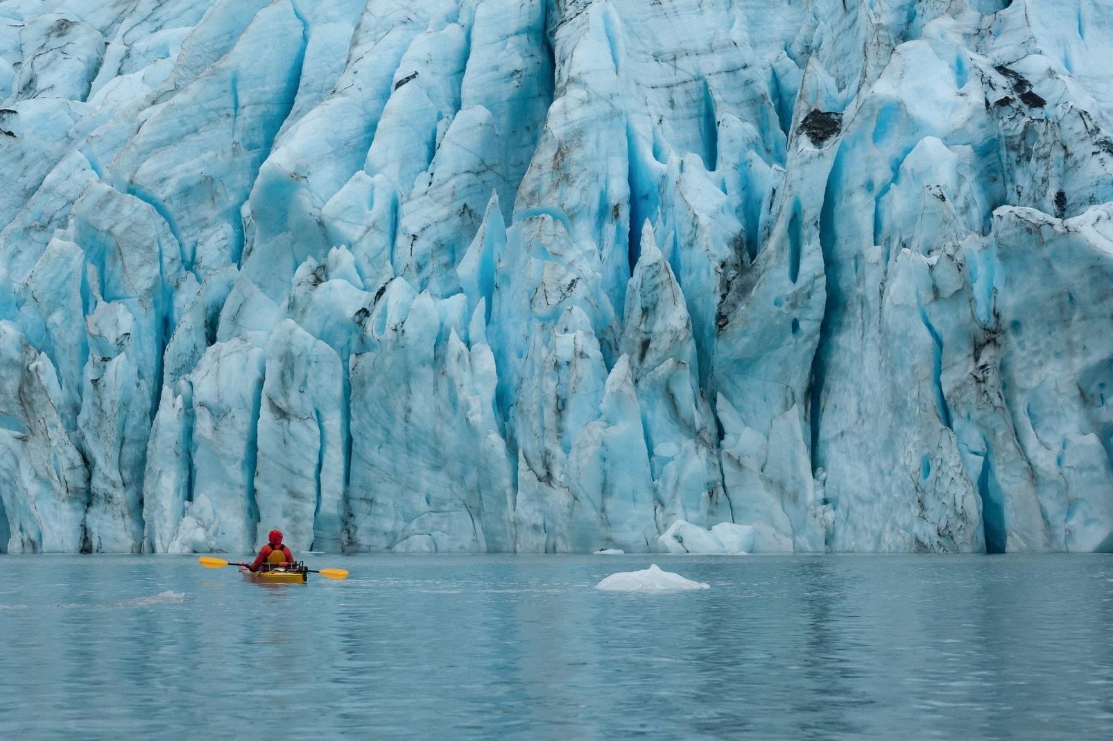 Gletscher Kanu Valdez Alaska