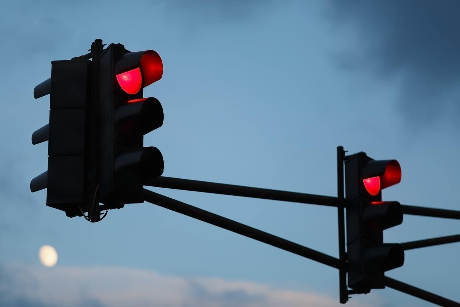 Rote Ampel Ampeln