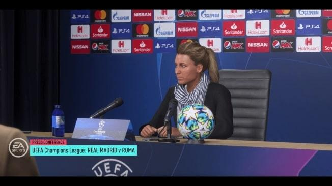 FIFA 20 Karriere Weibliche Trainerin