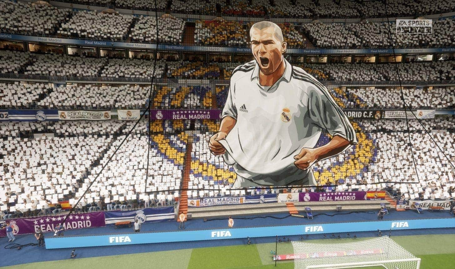 FIFA 20 Ultimate Team FUT Zinedine Zidane Choreografie