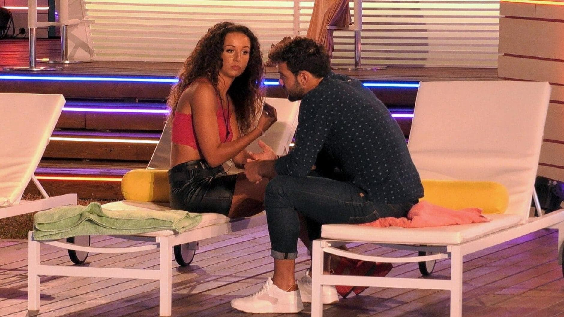 Love Island 2019 Stress Samira Yasin
