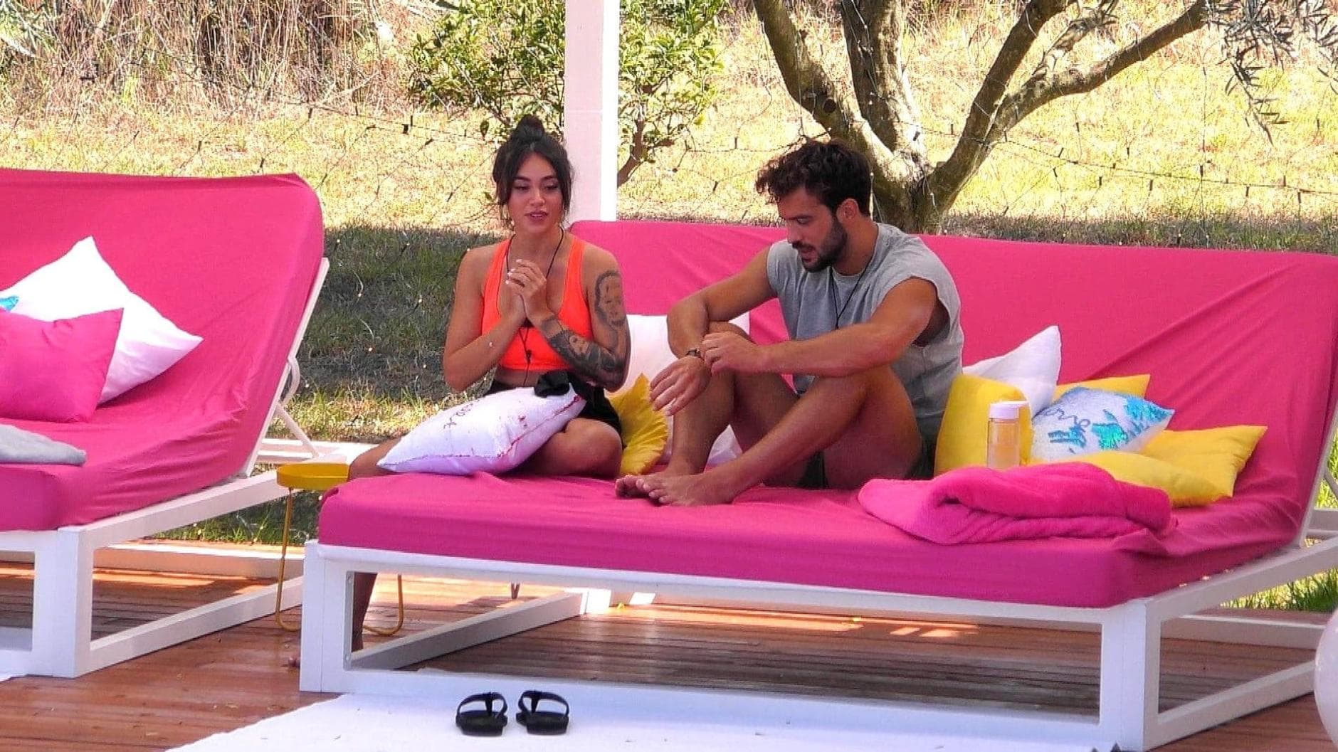 Love Island 2019 Yasin checkt Melissa