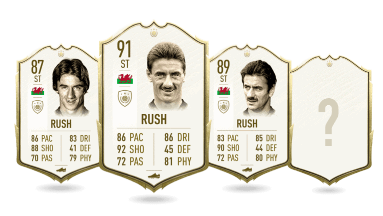FIFA 20 Ian Rush Icon für BS