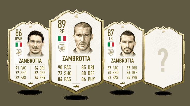 FIFA 20 Gianluca Zambrotta Icon für BS