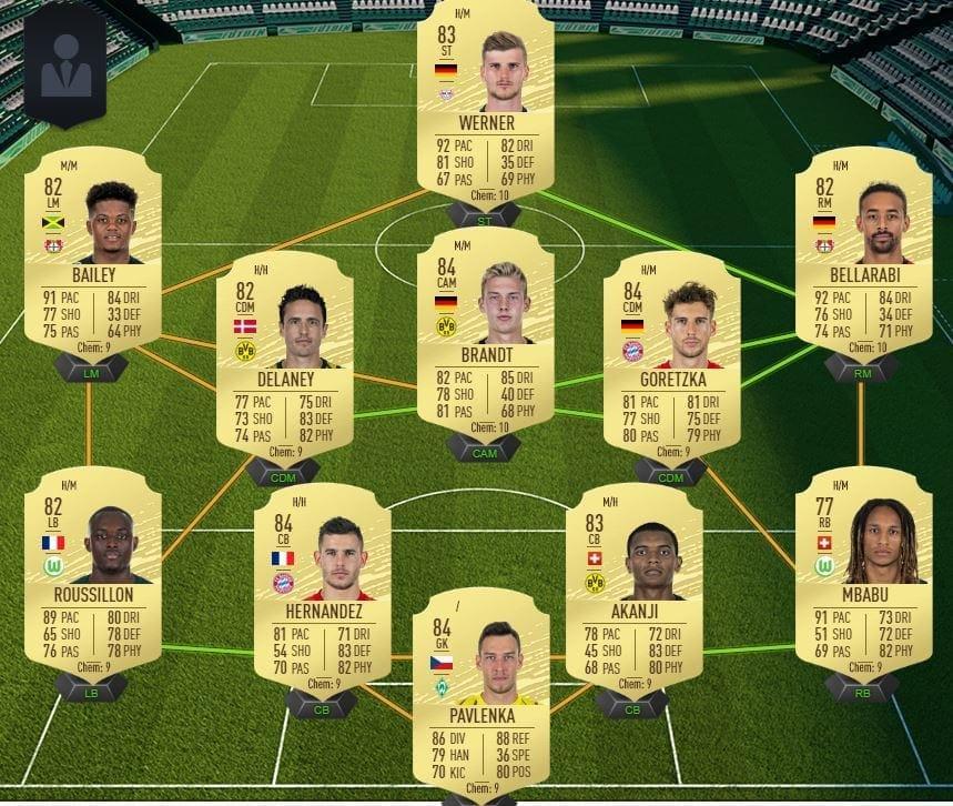 Starter-Team Bundesliga FIFA 20 teuer