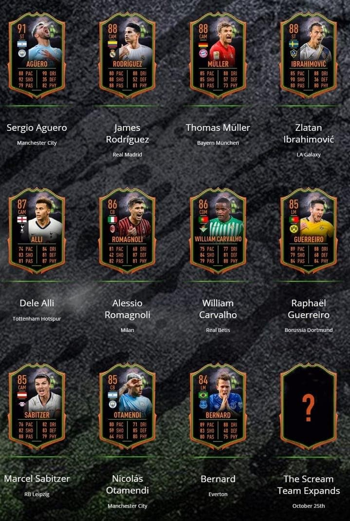 FIFA 20 Ultimate Scream Team 1