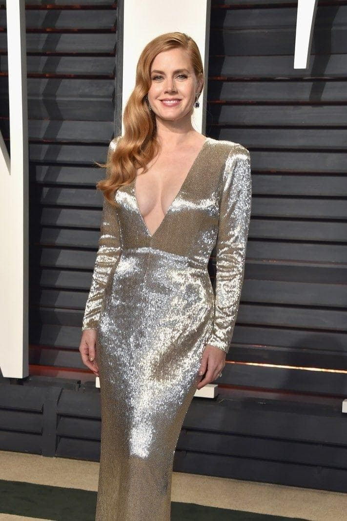 Amy Adams 2017 Vanity Fair Oscar Party Hosted By Graydon Carter