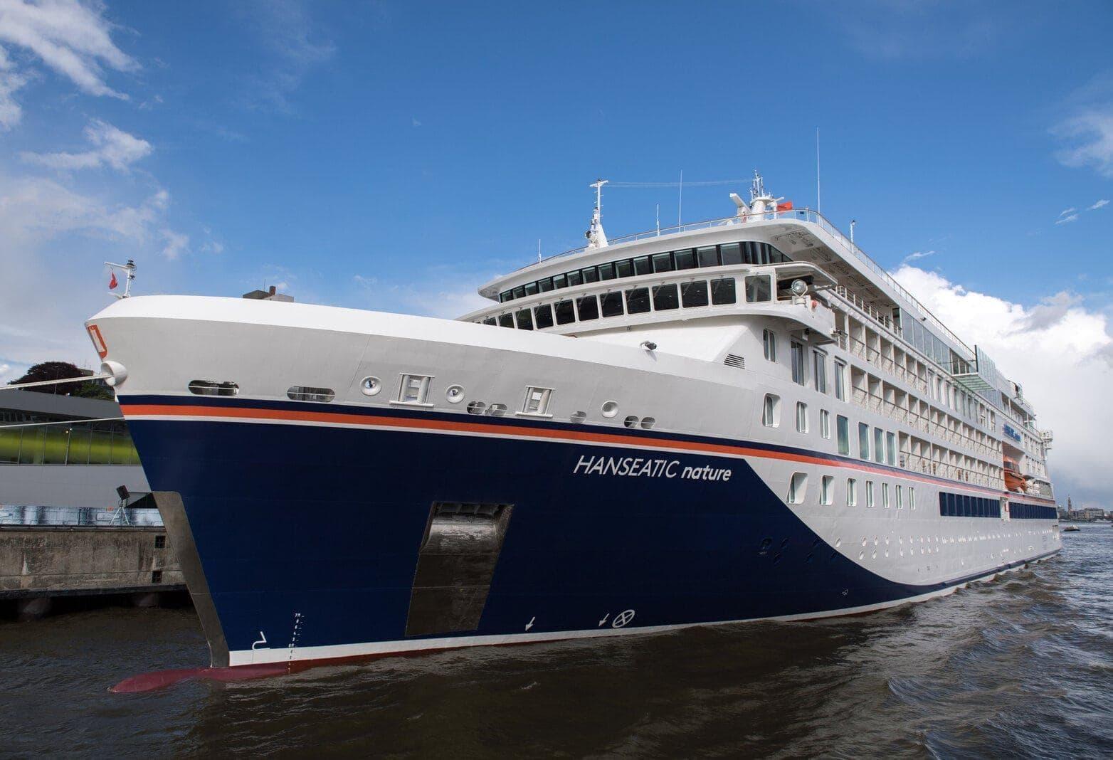 Kreuzfahrtschiff Hanseatic nature