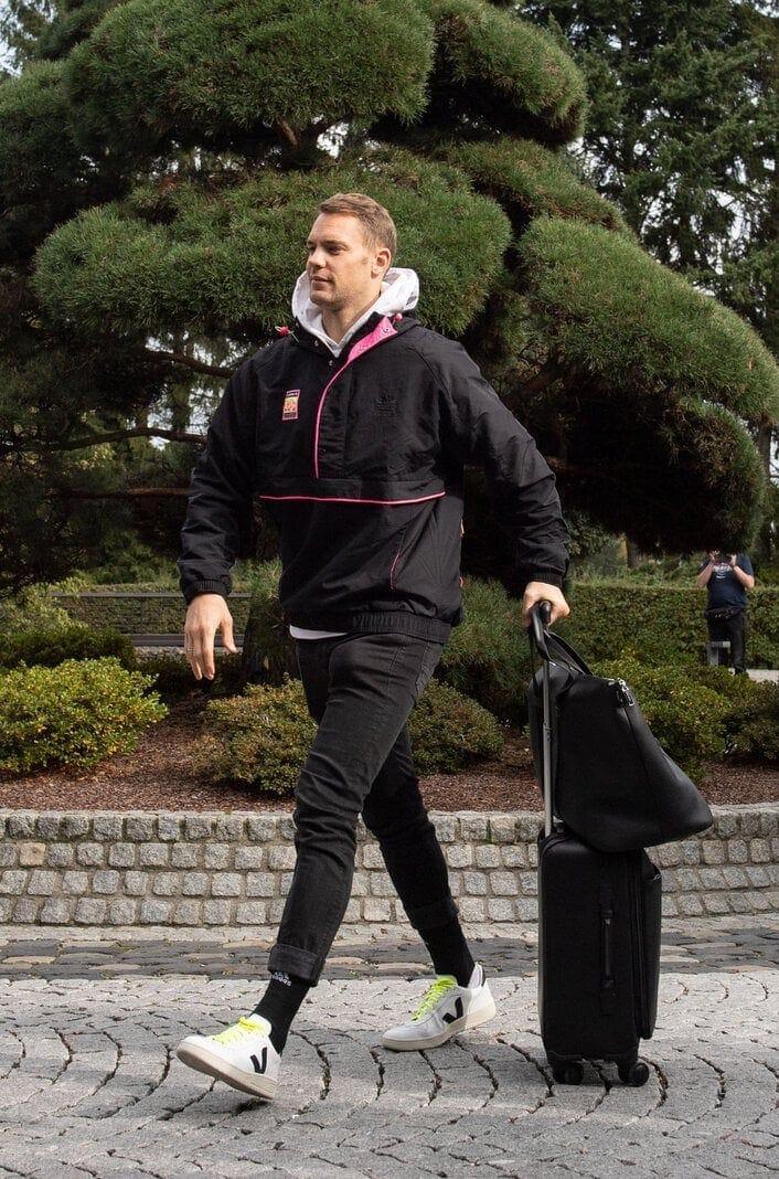 Manuel Neuer Nationalmannschaft Turnschuhe Veja