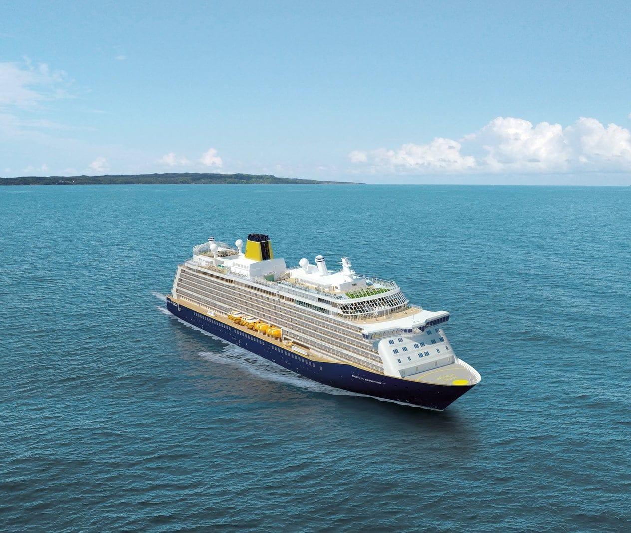 Kreuzfahrtschiff Spirit of Adventure