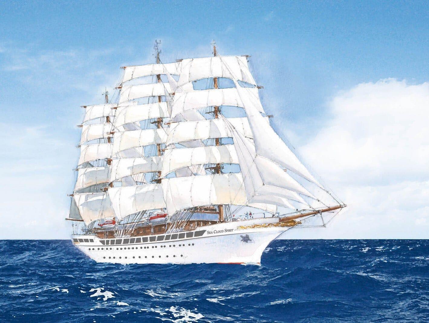 Kreuzfahrtschiff Sea Cloud Spirit