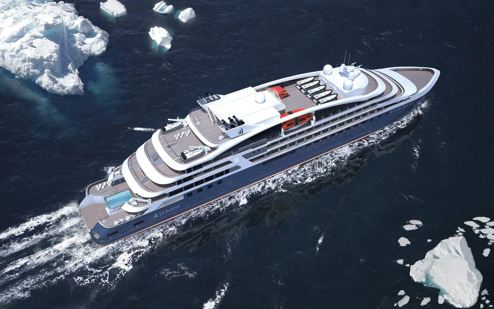 Kreuzfahrtschiff Le Bellot