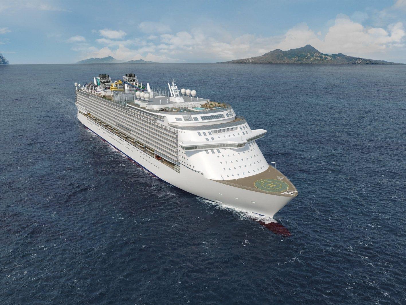 Kreuzfahrtschiff Global Class von Dream Cruises