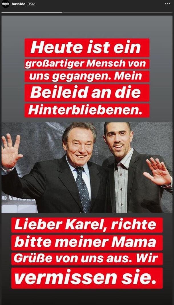 Bushido Karel Gott