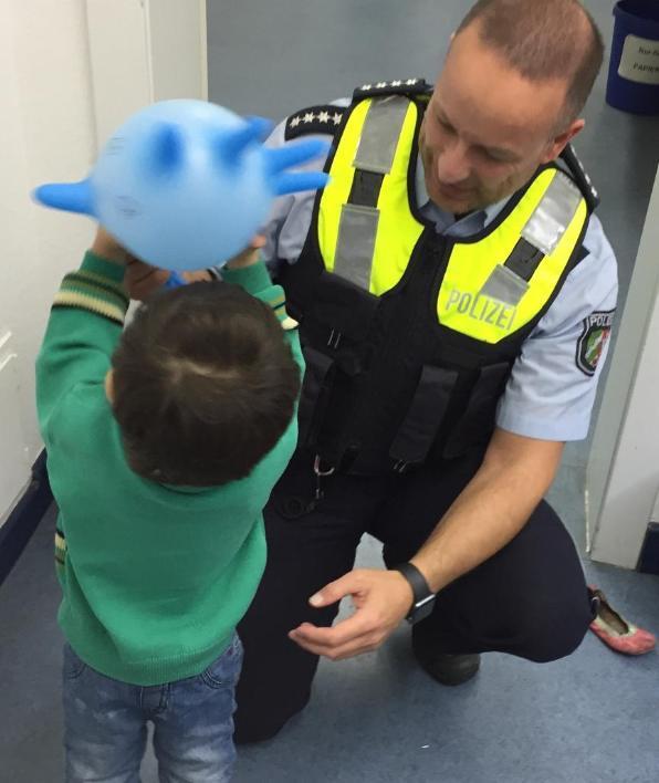 Polizei Hamm Zweijähriger