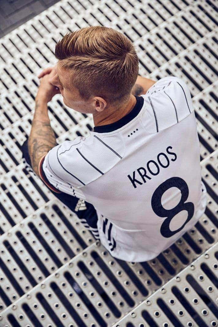 Neues Trikot der Nationalmannschaft Toni Kroos