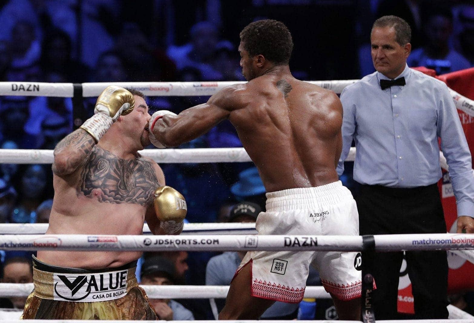 Boxkampf Ruiz - Joshua