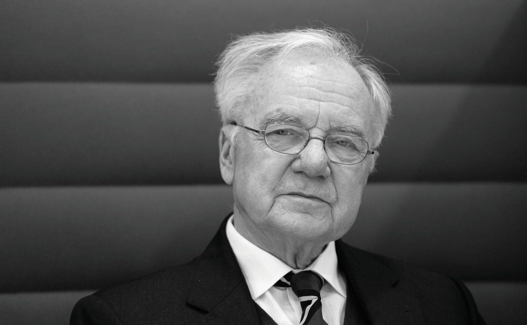Brandenburgs Ex-Regierungschef Manfred Stolpe