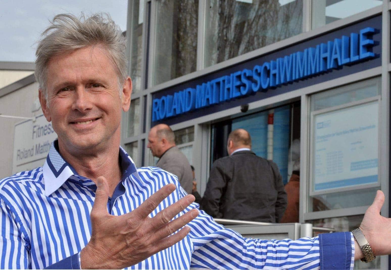 Schwimmer Roland Matthes