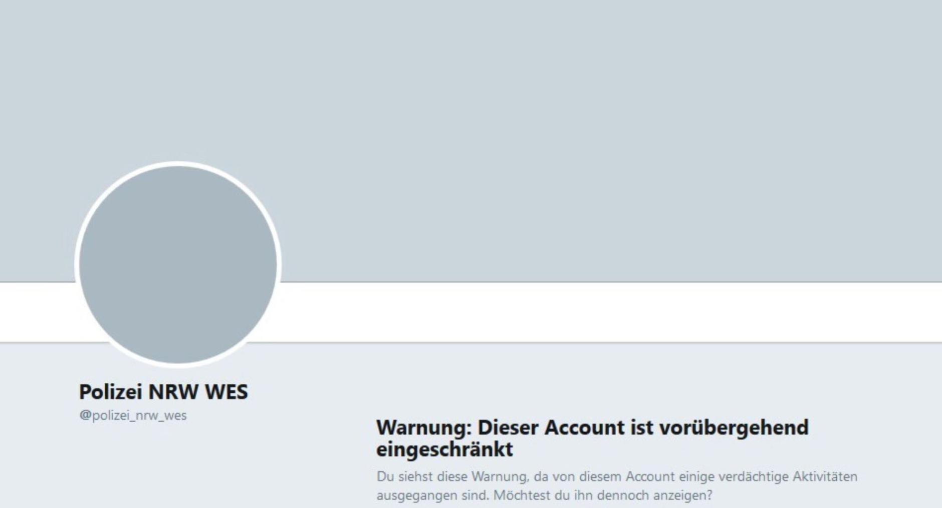 Twitter Account Entsperren